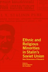 Omslag för Ethnic and Religious Minorities in Stalin's Soviet Union: New Dimensions of Research