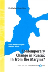 Omslag för Contemporary change in Russia: in from the margins?
