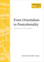 Omslag för From Orientalism to Postcoloniality