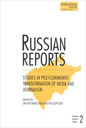 Omslag för Russian reports: studies in post-communist transformation of media and journalism