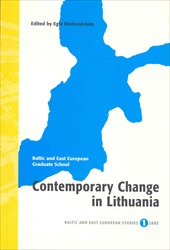 Omslag för Contemporary change in Lithuania