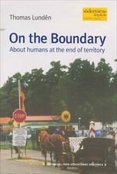 Omslag för On the boundary: about humans at the end of territory