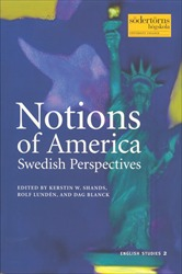 Omslag för Notions of America: Swedish perspectives
