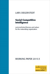 Omslag för Social Competitive Intelligence: Socio-technical themes and values for the networking organization