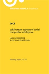 Omslag för CoCI: Collaborative support of social competitive intelligence