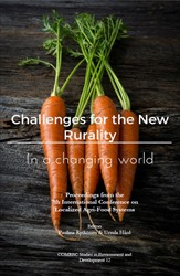 Omslag för Challenges for the New Rurality in a Changing World: Proceedings from the 7th International Conference on Localized Agri-Food Systems : 8-10 May 2016, Södertörn University, Stockholm, Sweden